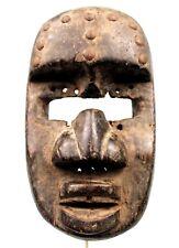 Art Africain Arts Premiers - Ancien Masque de Portage Dan Guéré - 22 Cms +++++++