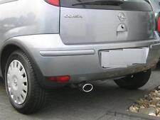 Opel Corsa C Deflector Tubo de Escape Deportivo Acero Inox. 1,2+1,4