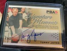 Tommy Jones PBA Signature Moments autograph by Rittenhouse