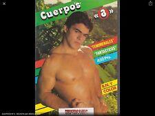 CUERPOS Nº 3 - REVISTA GAY -  Magazine  vintage gay Spain años 90