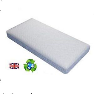 Quilted Space saver Cot Mattress 100 x 52 x10cms Fully Breathable Non Allergenic