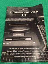 Sega Mega Drive Video Game Manuals, Inserts & Box Art