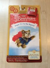 TJ BEARYTALES SUPER T.J to the RESCUE book & cartridge  BRAND NEW IN PACKAGE