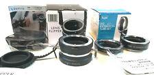 [ OpenBox ] Sony E Kenko DG Extension Tube 10, 16mm& Go Wing Lens Flipper Holder