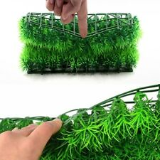Green Plastic Water Grass Plant Lawn Fish Tank Landscape Aquarium Home Decor