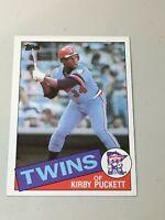 F48377 1985 Topps #536 Kirby Puckett RC bv $20 Twins Rookie
