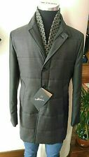 Cappotto Uomo Montecore Giacca Blu/Grigio Elegante con Sciarpa Removibie €8̶0̶0̶