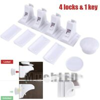 For Child Baby Proof Safety Magnetic Cabinet Locks Cupboard Door Drawer Kitchen