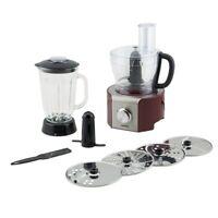 8 in 1 Multifunktions-Küchenmaschine 800W 1,5l Rot H.koenig MX18