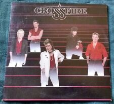 "Crossfire - Self titled 12"" EP (1985) private press AOR/hard rock (MA) VG+/VG"