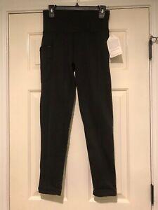 NEW NWT Size Medium  Black Avalanche Mogul Fleece Lined Leggings