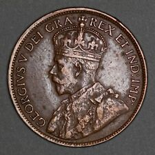 1918 Canada One Cent - George V - Large Cent