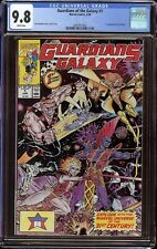 Guardians of the Galaxy # 1 CGC 9.8 White (Marvel, 1990) 1st Taserface
