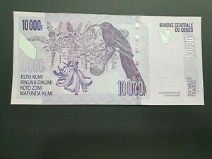 CONGO 10000 FRANCS 2006 UNC
