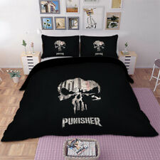 Skull Envoy Duvet Cover Pillow Sham Set Twin/Queen/King Size Bedding Set Black
