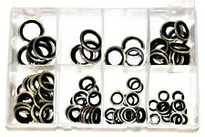 Assorted Box of Bonded Seals Dowty Washers Metric Box QTY 90 Pieces AT104