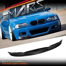 Vorsteiner Style Carbon Front bumper bar lip for BMW M3 E46 Coupe & Convertible