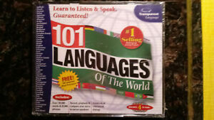 101 LANGUAGES OF THE WORLD - WINDOWS / MACINTOSH CD-ROM - TRANSPARENT LANGUAGE