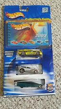 Hot Wheels 2003 COLLECTOR'S GUIDE  3 Car Set