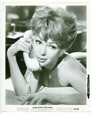 Come Blow Your Horn-Barbara Rush-8x10-B&W-Still