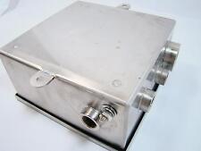10 x 10 x 5 Steeline Industrial Control Panel Enclosure 101005A10L4X01/C W/4 Con