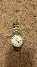 Seiko Men's SRN063 Coutura Kinetic Retrograde Silver-Tone Watch