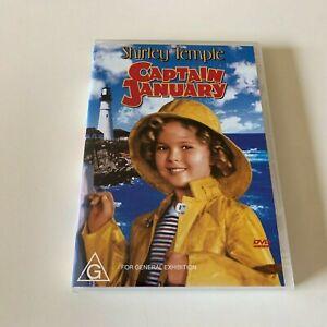 Shirley Temple (1936) Captain January - DVD Region 4