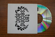 """TEN SECOND EPIC """"Everyday (feat. Lights) PROMO CD"""