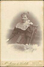 Oban. 1896.  Lady, lace collar,  by Mc Isaac & Riddle    QS.1244