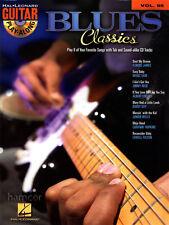 BLUES Classics CHITARRA Play-Along volume 95 scheda Book con Playalong CD JAM Play