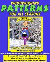 GRINCH WHOVILLE PAPA YARD ART PATTERN WOOD WORKING DECORATION