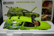 1-18 Classic Carlectables Holden Panel Van Barbados Green item #18560 NOS.