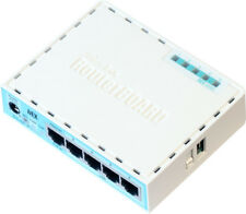 MIKROTIK hEX RB750Gr3 5-Port Gigabit Router, 256Mb RAM, 880Mhz CPU, MicroSD, USB