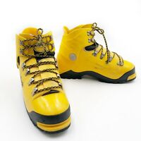 Koflach Arctis Expe Mountaineering Boots SHELLS ONLY Size 10 US / 9.5 UK Yellow