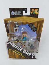 Minecraft Minifigure Wood Series 10 Toast Steve Vindicator
