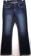 Maurices Original Jeans Size 3 / 4 REG Stretch Dark Denim Inseam 33