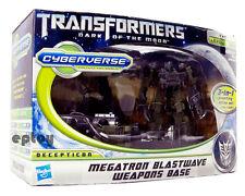 Transformers Movie 3 Cyberverse Megatron Blastwave Weapons Base Action Figure
