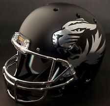 MISSOURI TIGERS Schutt XP Authentic GAMEDAY Football Helmet MATTE BLACK/CHROME