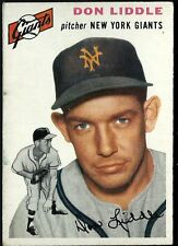 1954 Topps Don Liddle # 225 EX+