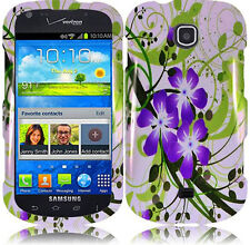 For Samsung Galaxy Stellar i200 HARD Protector Case Phone Cover Green Lily