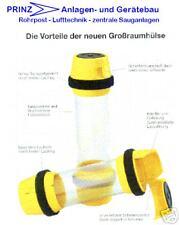3 x Rohrpostbüchsen, Rohrpostbehälter, Rohrpostboxen Fahrrohr 110mm Länge 330mm