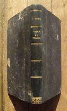 Gaule et France Alexandre Dumas 1862  Michel Levy editeur