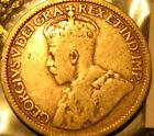 1936 Canada 10 Cent Dime Ten Cent Rare Silver Coin.