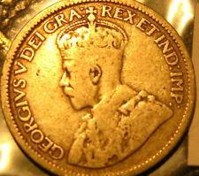 1936 CANADA 10 CENT SILVER COIN RARE