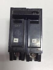 GENERAL ELECTRIC 2-POLE 20A CIRUIT BREAKER THQP HID