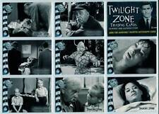 """Twilight Zone Series 4 """" Science and Superstition """" Complete 72 Card Set 2005"""