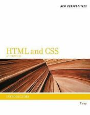 HTML: HTML and CSS : Introductory by Patrick M. Carey (2011, Paperback)