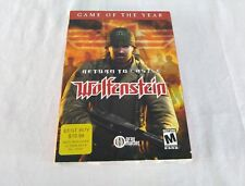 Return to Castle Wolfenstein: Game of the Year (PC, 2002)