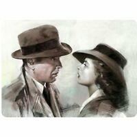 CASABLANCA / Humphrey Bogart  .  8x12 metal sign