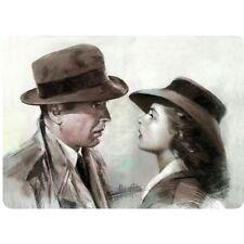 Casablanca / Humphrey Bogart . 8x12 metal sign
